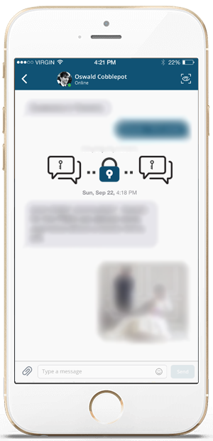 Zap Encrypted Chats